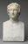 Alexandre le Grand, roi de Macédoine (336-323 avant J.-C.), copie romaine d'un portrait de bronze d'Alexandre nu brandissant une lance