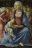 La Vierge et l'Enfant entourés de cinq anges