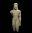 Jeune homme nu (couros) : statue provenant du sanctuaire d'Asclépios, dieu de la Médecine
