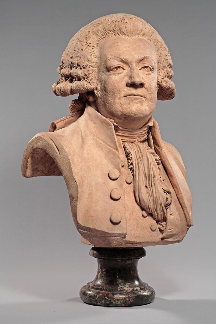 Portrait d'Honoré-Gabriel Riqueti, comte de Mirabeau (1749-1791), élu du  Tiers-État aux États-Généraux de 1789 - Louvre-Lens