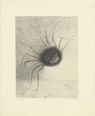Araignée - Odilon REDON - 1887 © BnF