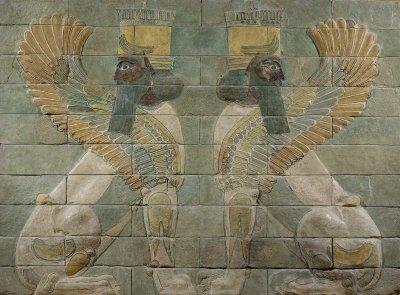 Oeuvre - Sb 3325 - Décor de la salle du trône du palais du roi Darius Ier - Louvre